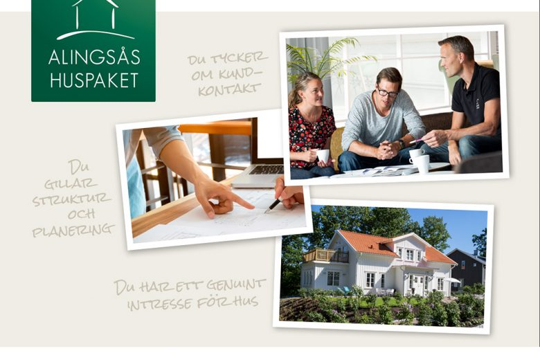 Vi söker hussäljare - Bygga hus i Göteborg.