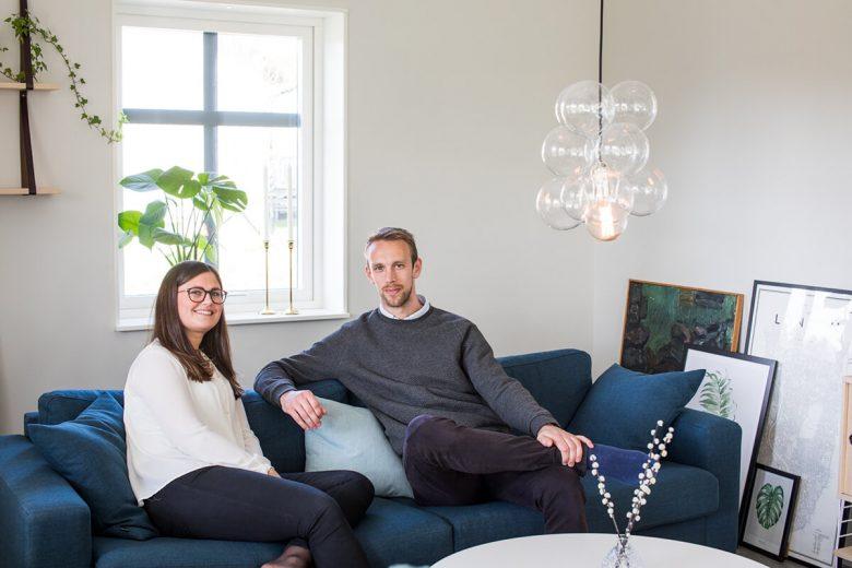 Hemma hos familjen Svensson/Westergård - Bygga hus i Göteborg.