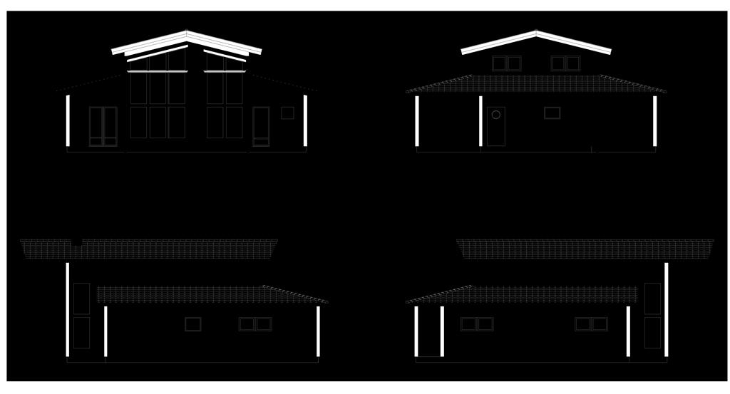 #Banff - Planskiss, hus i Göteborg.