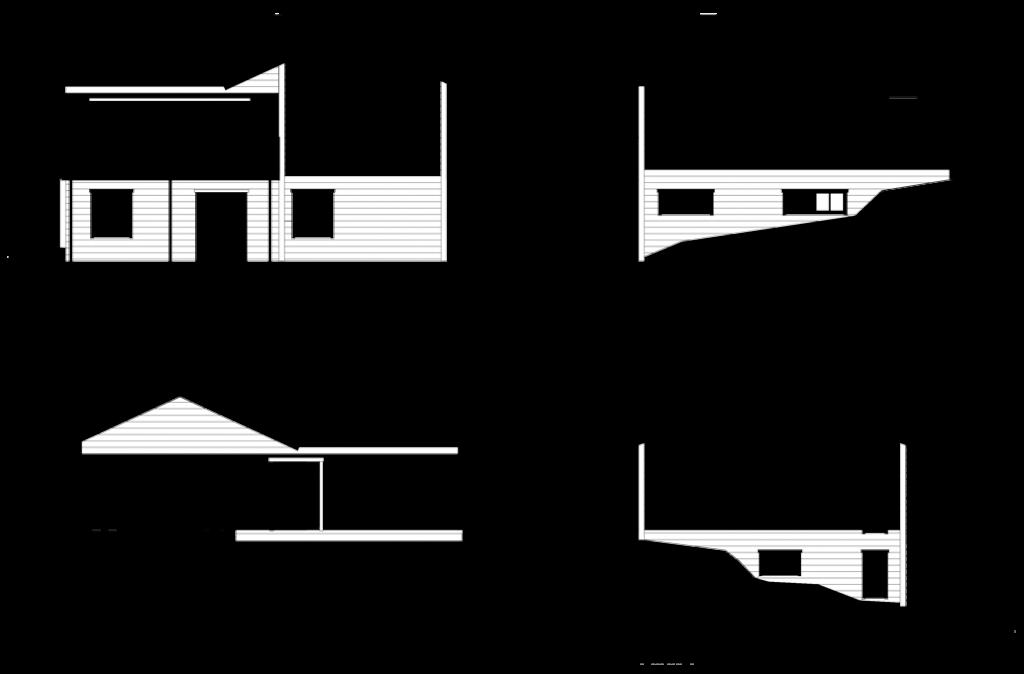 #KS834 - Planskiss, hus i Göteborg.