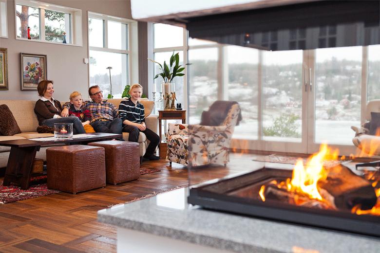 Hemma hos familjen Carlsson-Hesser - Bygga hus i Göteborg.