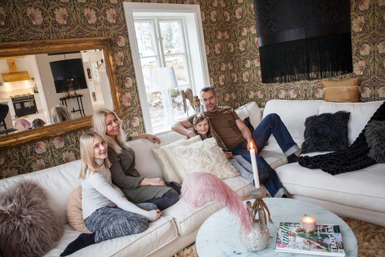 Hemma hos familjen Arnstrand - Bygga hus i Göteborg.