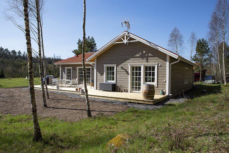 Hemma hos familjen Svensson - Bygga hus i Göteborg.