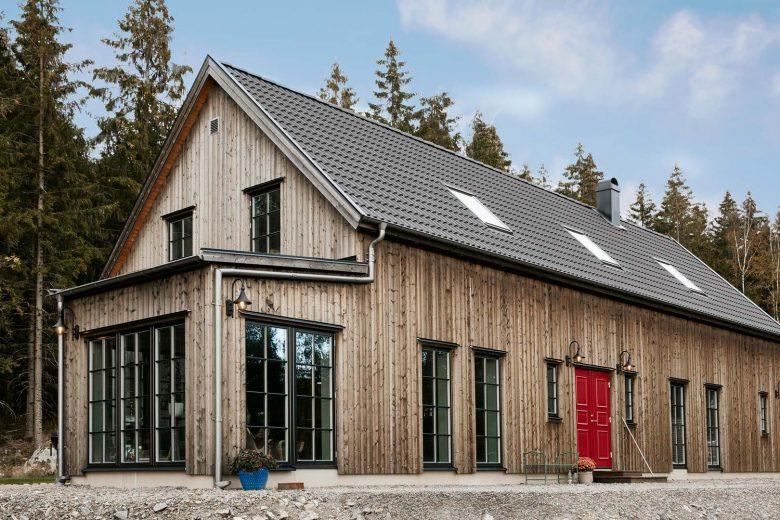 Hemma hos familjen Karlsson/Widing - Bygga hus i Göteborg.