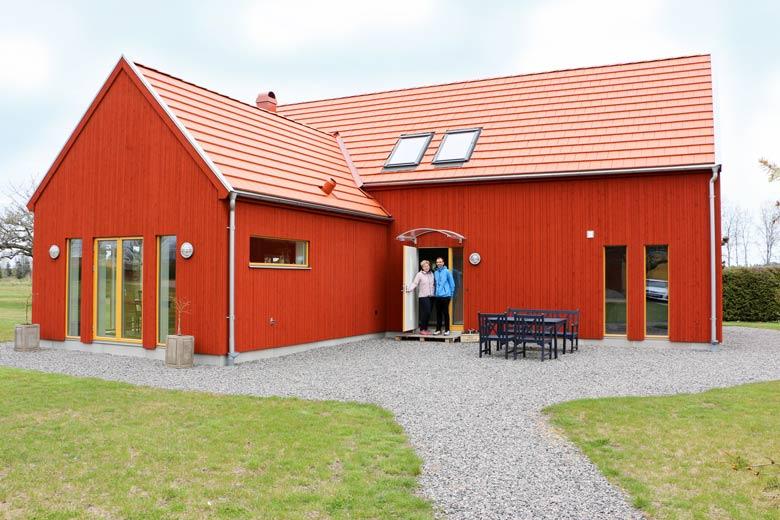 Hemma hos Agneta och Thore - Bygga hus i Göteborg.