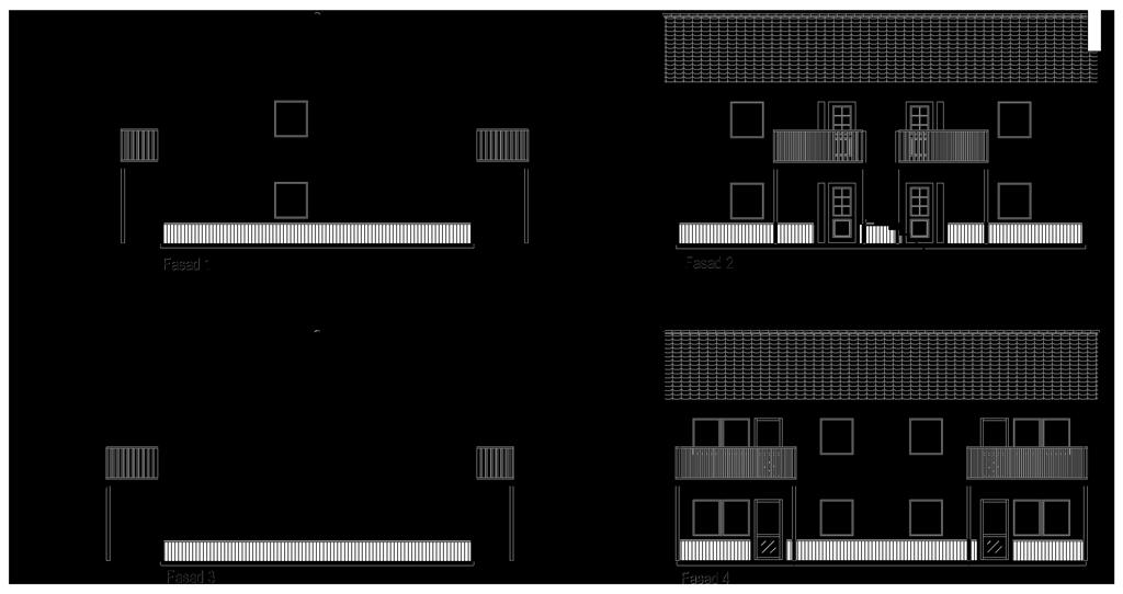 #KF840 - Planskiss, hus i Göteborg.