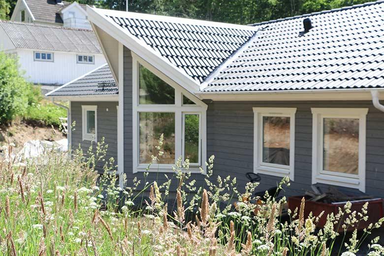 Hemma hos Henrik och Johanna - Bygga hus i Göteborg.