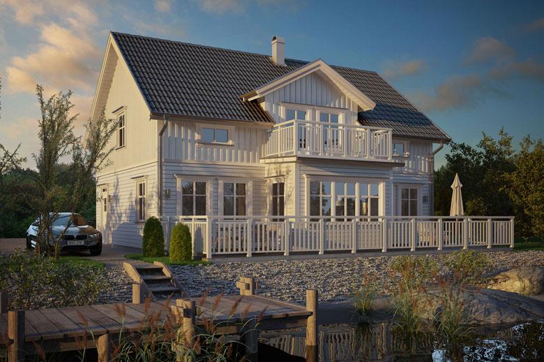 Fasadspecial – De mest populära stilarna just nu - Bygga hus i Göteborg.
