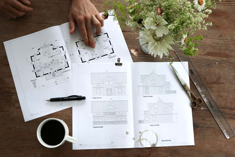 Planritningar och planlösningar