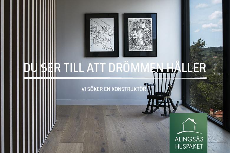 Vi söker Alingsås bästa konstruktör! - Bygga hus i Göteborg.