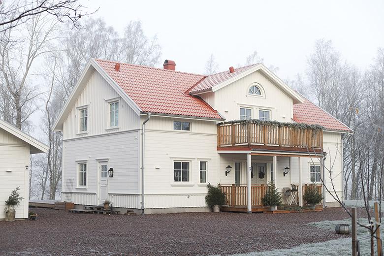 Hemma hos familjen Stenseke - Bygga hus i Göteborg.