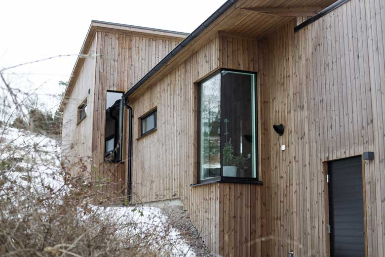 Hemma hos Familjen Engelin/Larsson - Bygga hus i Göteborg.